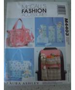 McCall's Fashion Accessories Bags & Car Organizer #M4403 Uncut - $6.99