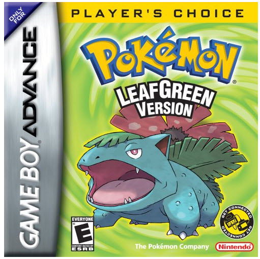 Primary image for Pokemon: Leaf Green Nintendo Game Boy Advance