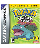 Pokemon: Leaf Green Nintendo Game Boy Advance - $29.99
