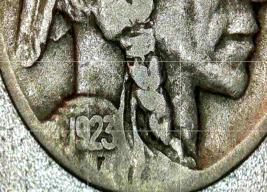 Buffalo Nickel 1923 and 1923 S  AA20BN-CN6079 image 4