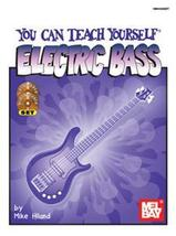 You Can Teach Yourself Electric Bass Book/CD/DV... - $21.99