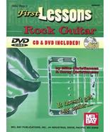 First Lessons Rock Guitar Book CD/DVD Set  - $14.99