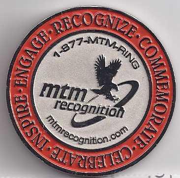 2010 SONIC'S GOT IT CONVENTIION Las Vegas MTM Recognition Coin