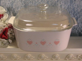 Vintage Corning Ware Forever Yours Covered Casserole 5 Qt Dutch Oven Pyr... - $49.99