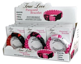 TRUE LOVE PARACORD BRACELETS - - One item with Design and Color maybe vary image 2