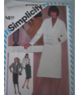 Simplicity  Misses Size 10-12-14 Dress in Two Lengths #8619 Uncut 1988 - $4.99