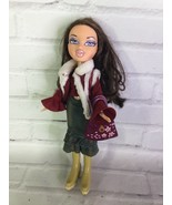 MGA Bratz Dana Doll Brown Hair Purple Eyes With Outfit Bag Shoes 2001 - $31.67