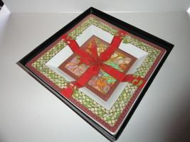 Versace by Rosenthal Christmas Magic Tray 8.5 inch - $375.00