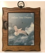 """Vintage Follow Your Dreams Wall Plaque. Frame 6""""x7""""x1"""" - $14.03"""