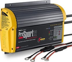 ProMariner 43012 ProSport 12 12-Amp 2-Bank Battery Charger - $126.97