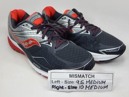 MISMATCH Saucony Ride 9 Men's Shoes Size 9.5 M (D) Left & 10 M (D) Right