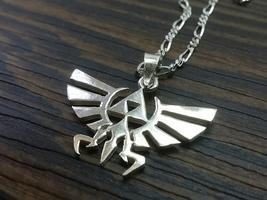 The Legend of Zelda - Nintendo - Pendant - Sterling Silver - Handmade - $55.00