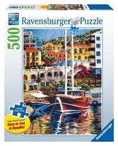 New Ravensburger Exotic Harbor 500 Piece Large Format Puzzle - $16.93