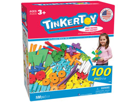 NEW Tinkertoy 100 Piece Essentials Value Set - $33.85