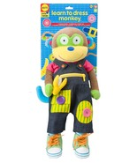 ALEX Toys Little Hands Learn To Dress Monkey - $42.57