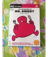 Mr Men Little Miss The Adventures of Mr Greedy Windows PC CD Rom Brand New - $14.99