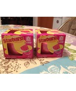Starburst Summertime Watermelon Jar Candle Candles Set of 2 Brand New - $14.99