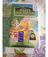 1997 Walt Disney Classic Pooh's Grand Adventure VHS Brand New Clam Shell... - $9.99