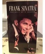 Frank Sinatra Portrait of a Legend Rat Pack 3 VHS Box Set Brand New & Se... - $11.99