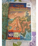 Universal The Land Before Time V The Mysterious Island VHS New Clam Shel... - $9.99