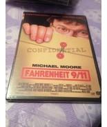 Fahrenheit 9/11 DVD Michael Moore John Ashcroft (II) James Baker III New... - $7.99