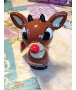 Rudolph the Red Nosed Reindeer 50 Years Christmas Ornament Figurine New ... - $12.99