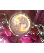 Geneva Quartz Stainless Steel Multi Color Toggle Bracelet Wrist Watch Br... - $19.99