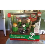 Peanuts Christmas Concert 5 Pc Mini Figure Complete with Play Stage New ... - $39.99