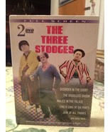 The Three Stooges Vol 1 & 2 Classic Color & Black & White 2 DVD DVDS New... - $7.99