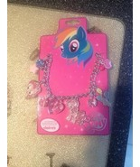 Hasbro Claire's MY LITTLE PONY BIRTHDAY CHARM NECKLACE GIRL PINK Brand New - $10.99