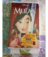 2000 Walt Disney Original Classic Mulan VHS Brand New Clam Shell Factory... - $9.99