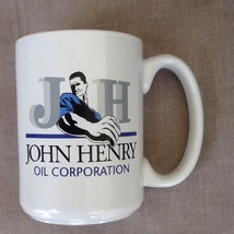 JOHN HENRY OIL Corp. coffee cup rare very clean - $14.52
