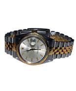 Mens two tone Rolex datejust watch  bracelet si... - $3,760.03