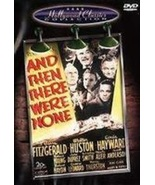 Agatha Christie: And Then There Were None DVD ( Ex Cond.) - $8.80