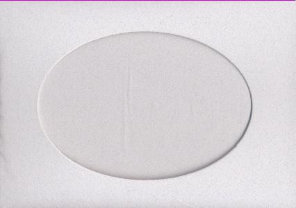 7005 granite oval opening needlework card
