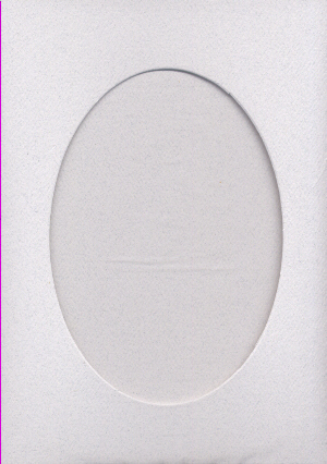 Granite Oval Large Needlework Cards 5x7 cross stitch