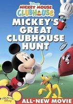 DISNEY Mickey Mouse Mickey's Great Clubhouse Hunt DVD  DONALD GOOFY MINN... - $6.99