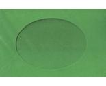 5548 christmas green oval opening needlework card thumb155 crop