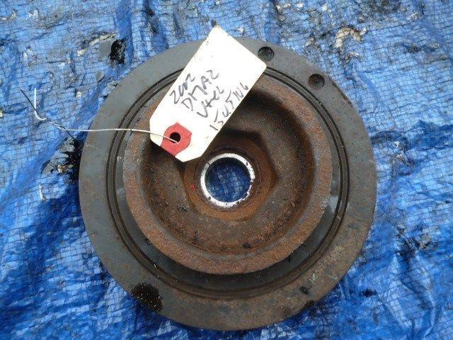 01-05 Honda Civic D17A2 vtec harmonic balancer crank pulley engine motor OEM 1.7