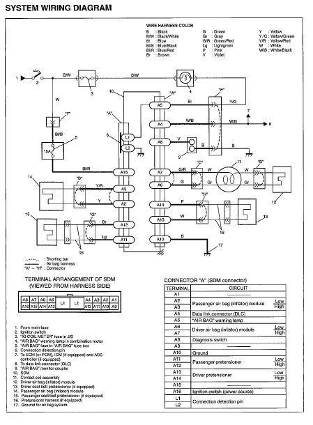 suzuki xl wiring diagram manual guide  suzuki  auto wiring