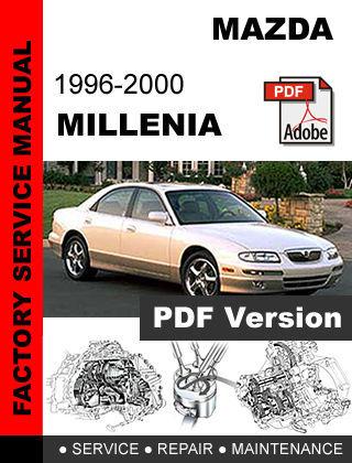 mazda millenia 1996 2000 factory oem service and 50 similar items rh bonanza com Mazda Millenia Relay Location Mazda Millenia S Specs