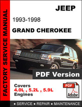 JEEP GRAND CHEROKEE 1993 - 1998  4.0 5.2 5.9 + ... - $14.95