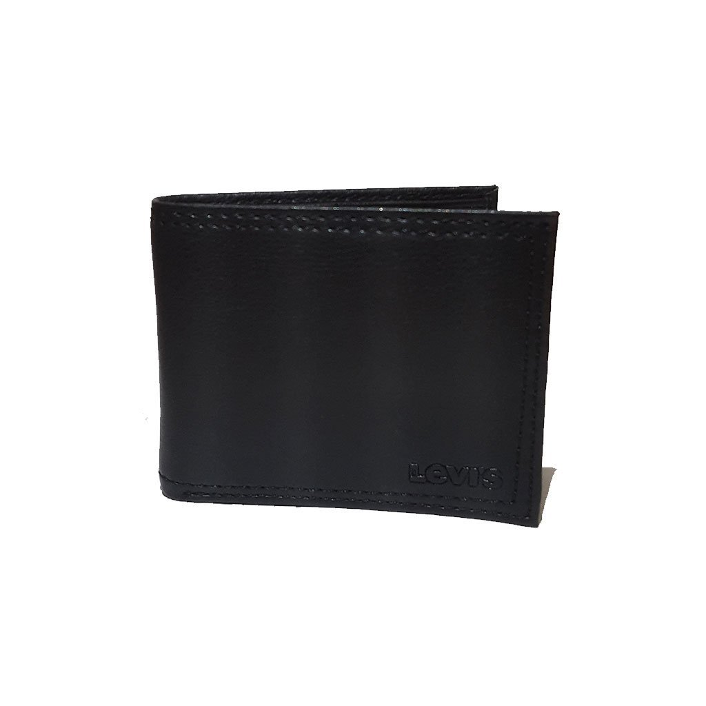 Levi's® 31LV1344 men's extra capacity slimfold wallet black brown one size image 2