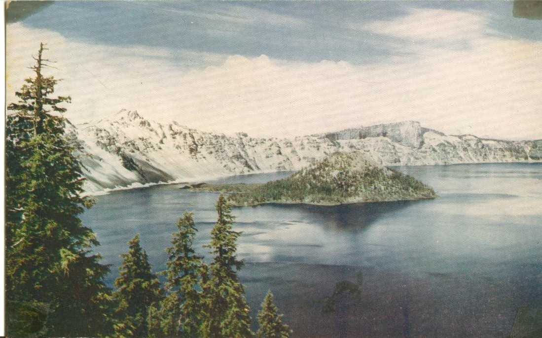 Crater Lake National Park, Oregon, unused Postcard