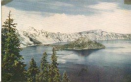 Crater Lake National Park, Oregon, unused Postcard  - $3.99