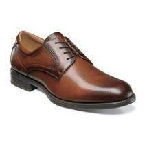 Florsheim Mens Shoes Midtown Oxford Cognac lace Up Leather 12135-221 - $120.99