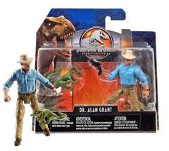 Jurassic World Legacy Collection Dr. Alan Grant & Compy Dinosaur New in ... - $14.88
