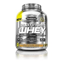 MuscleTech Essential Platinum 100% Whey, 2 lb Strawberries and Cream - $109.00