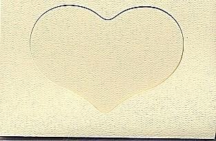 5593 ivory heart opening large needlework card