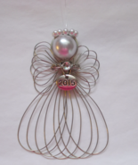 2015 Year Dated Angel Ornament Handmade - $8.00